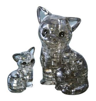 HCM Kinzel - Kočka s koťátkem: 3D Crystal puzzle 49 dílků