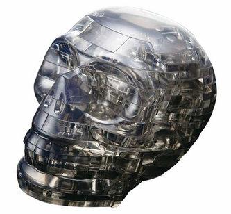 HCM Kinzel - Lebka: 3D Crystal puzzle 49 dílků