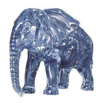 HCM Kinzel - Slon: 3D Crystal puzzle 40 dílků
