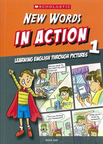 New Words in Action 1: Learning English through pictures - Tristan Rutherford