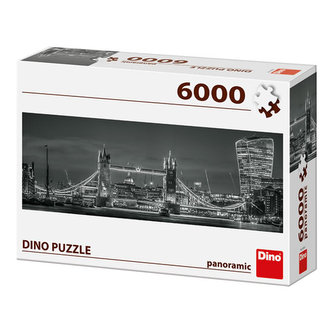 Tower Bridge v noci: puzzle 6000 dílků - neuveden