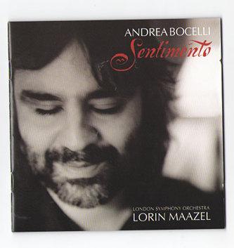 A.Bocelli - Sentimento - CD - Andrea Bocelli