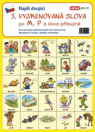 Infoa - Najdi dvojici - 3. Vyjmenovaná slova po M, P a slova příbuzná