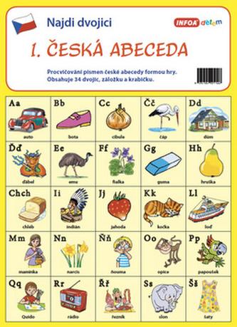 Najdi dvojici - 1. Česká abeceda - Infoa
