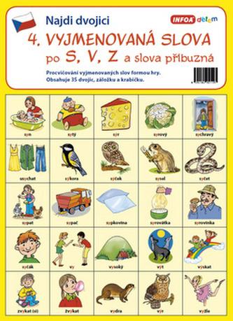 Infoa - Najdi dvojici - 4. Vyjmenovaná slova po S, V, Z a slova příbuzná