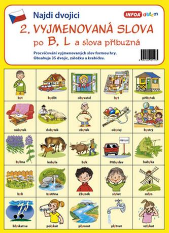 Infoa - Najdi dvojici - 2. Vyjmenovaná slova po B, L a slova příbuzná