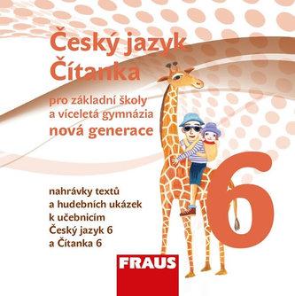 Český jazyk / Čítanka 6 pro ZŠ a VG CD (nová generace) - neuveden