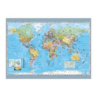 Mapa světa politická: puzzle 1000 dílků - neuveden