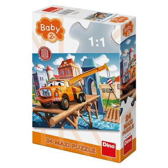 Tatra: maxi baby puzzle 24 dílků - Dino