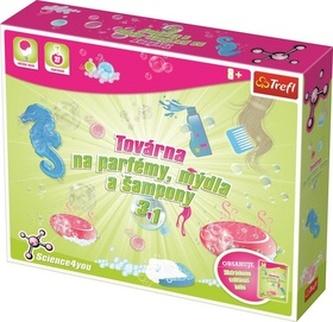 Továrna na parfémy, mýdla a šampóny 3v1 - Trefl