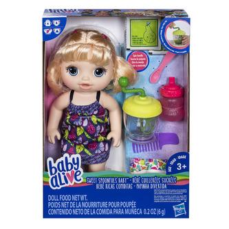 Baby Alive Blonďatá panenka s mixérem - Hasbro Baby Alive