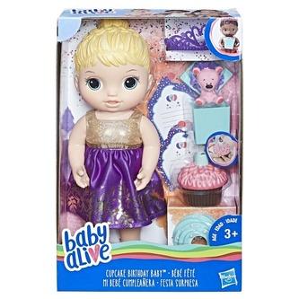 Baby Alive Narozeninová blonďatá panenka - Hasbro Baby Alive