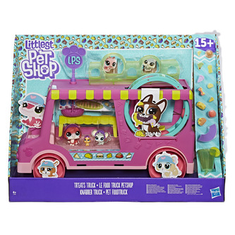 Hasbro Littlest Pet Shop - Littlest Pet Shop Set cukrářský vůz