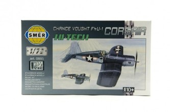 Model Chance Vought F4U-1 Corsair HI TECH 1:72 14,1x1,73cm v krabici 25x14,5x4,5cm - Směr