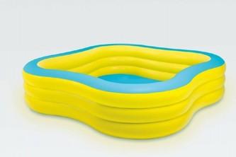 Bazén nafukovací čtvercový 229x229x56cm od 6 let - Teddies