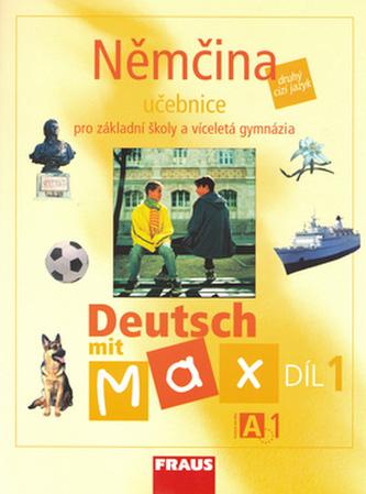 Němčina Deutsch mit Max A1/díl 1 - Olga Fišarová