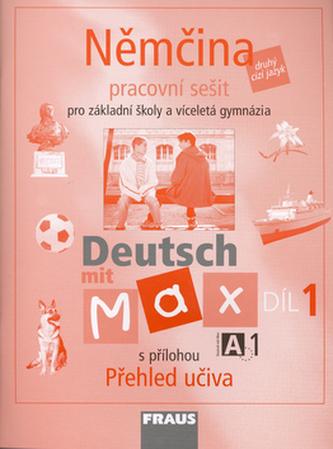 Němčina Deutsch mit Max A1/díl 1 - Kolektiv Autorů