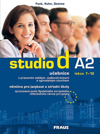 studio d A2/2 UČ + CD /lekce 7-12/ - Hermann Funk