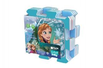 Trefl - Pěnové puzzle Ledové království/Frozen 32x32x1cm 8ks v sáčku