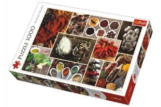 Trefl - Puzzle koláž Koření 1000 dílků v krabici 40x27x6cm