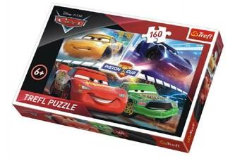 Trefl - Puzzle Cars 3 Disney 41x27,5cm 160 dílků v krabici 29x19x4cm
