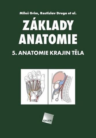 Základy anatomie 5: Anatomie krajin těla - Miloš Grim