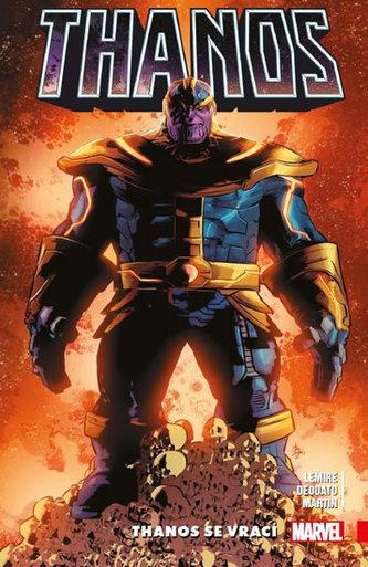 Thanos 1 - Thanos se vrací - JEFF LEMIRE