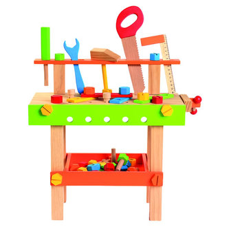 BINO - Dětský pracovní stůl s nářadím