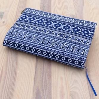 Obal na knihu Norský vzor modrý
