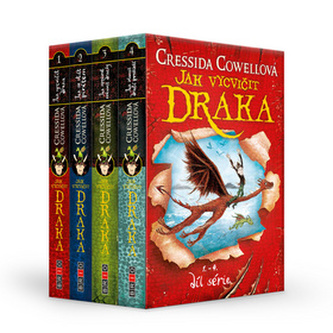Jak vycvičit draka 1-4 BOX - Cressida Cowell