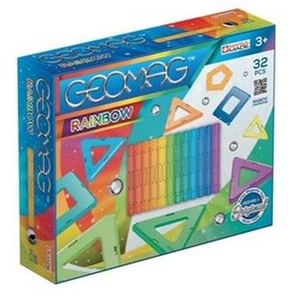 Stavebnice Geomag Rainbow 32 pcs