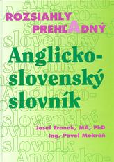 Rozsiahly prehľadný Anglicko - slovenský slovník