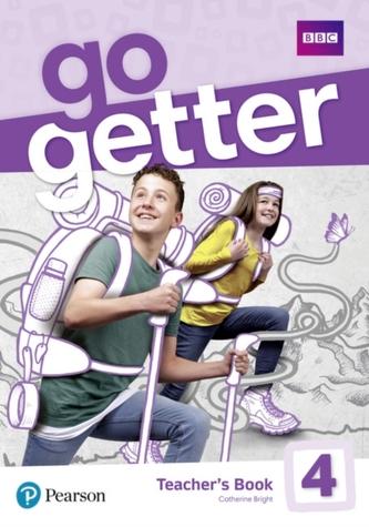 GoGetter 4 Teacher´s Book w/ Extra Online Homework/DVD-ROM - Kolektiv Autorů