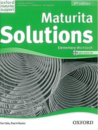 Maturita Solutions 2nd edition Elementary Workbook (česká edice) - bez CD - Tim Falla