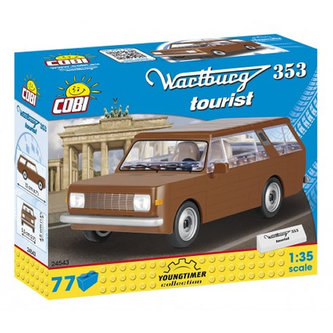 Stavebnice COBI 24543 Wartburg 353 Tourist/77 kostek - COBI