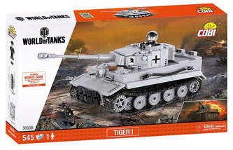 COBI - Stavebnice COBI 3000B WORLD of TANKS Tank Tiger I/545 kostek+1 figurka