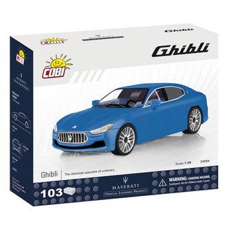 Stavebnice COBI 24564 Maserati Ghibli, 135/ 103 kostek - COBI