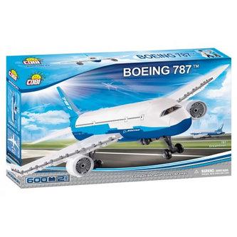 COBI - Stavebnice COBI 26600 Boeing Dreamliner/600 kostek+2 figurky