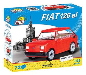 Stavebnice COBI 24531 Fiat 126p 19941999/72 kostek - COBI