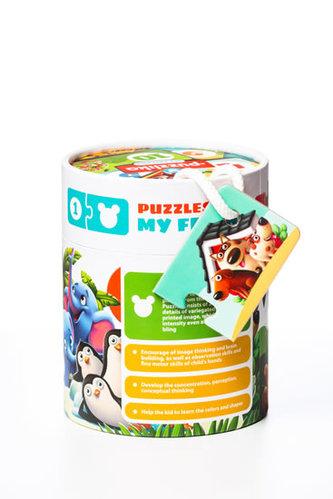 Přátelé: naučné puzzle 20 dílků - puzzlika