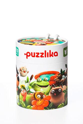 Můj domov: naučné puzzle 20 dílků - puzzlika