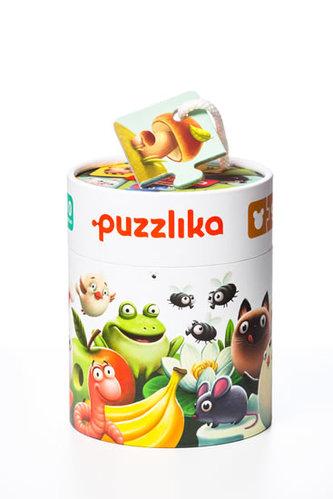 Mé jídlo: naučné puzzle 20 dílků - puzzlika