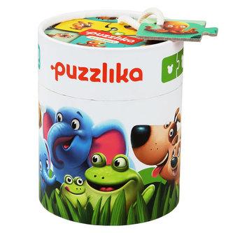 Moje rodina: naučné puzzle 20 dílků - puzzlika