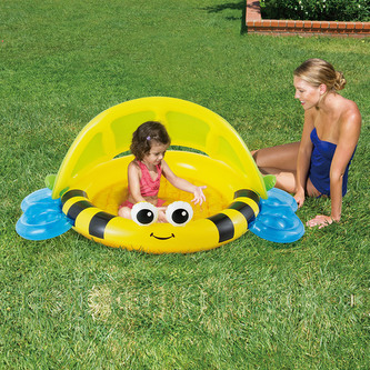 MAC TOYS - Dětský bazének se stříškou
