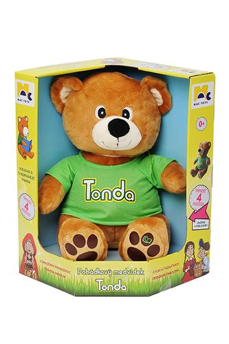 MAC TOYS - Pohádkový medvídek Tonda CZ
