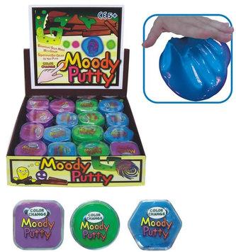 Skákací hmota - Moody,display 48 ks - HM Studio