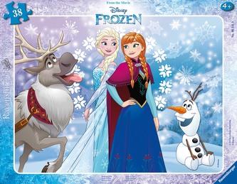 Ravensburger - Disney Ledové království 30-48 dílků