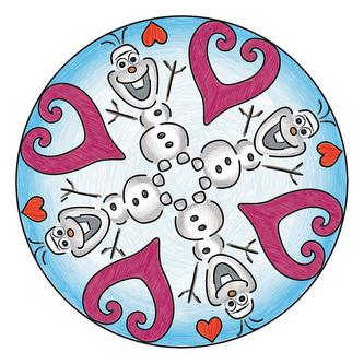 Mini Mandala Disney Ledové království - Ravensburger