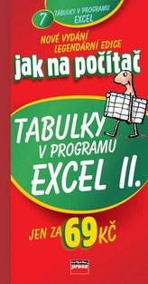 Jak na počítač Tabulky v programu Excel II.