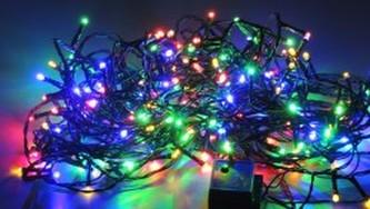 VENKOVNÍ SVĚTELNÝ LED ŘETĚZ multicolor, 17,9 m